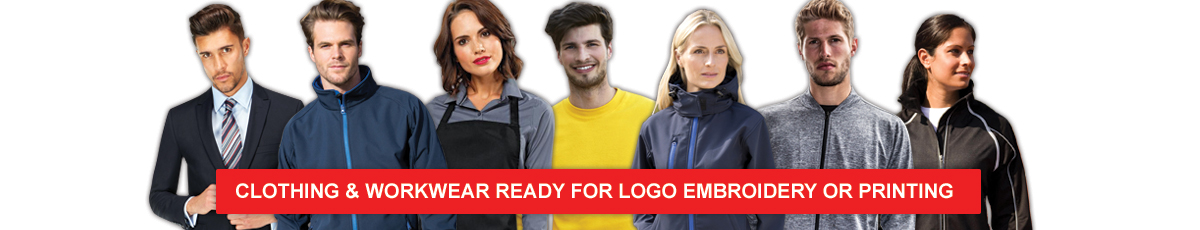 Workwear ready for logo embroidery or printing