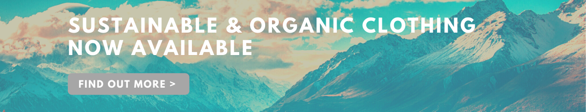 Organic & environmentally friendly clothing now available