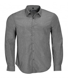 SOL'S Barnet Long Sleeve Heather Poplin Shirt