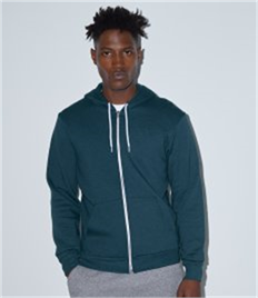 American Apparel Unisex Flex Zip Hooded Sweatshirt