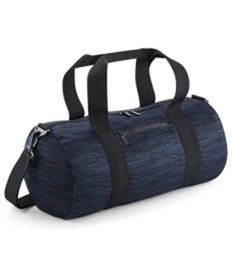 BagBase Duo Knit Barrel Bag