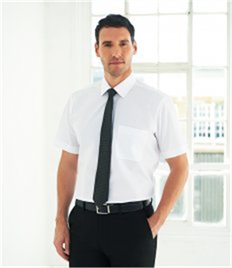 Brook Taverner Rosello Short Sleeve Poplin Shirt