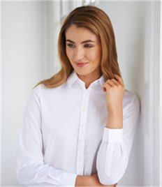 Brook Taverner Ladies One Selene Long Sleeve Poplin Shirt