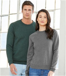 Canvas Unisex Sponge Fleece Tri-Blend Sweatshirt