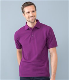 Henbury Heavy Poly/Cotton Pique Polo Shirt