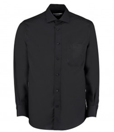 Kustom Kit Premium Long Sleeve Classic Fit Non-Iron Shirt