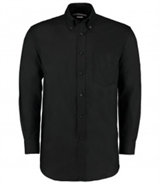 Kustom Kit Long Sleeve Classic Fit Workwear Oxford Shirt