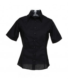 Kustom Kit Ladies Short Sleeve Business Shirt