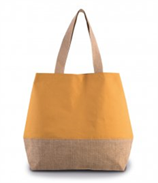 Kimood Canvas & Jute Shopper