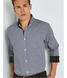Clayton & Ford Long Sleeve Gingham Shirt