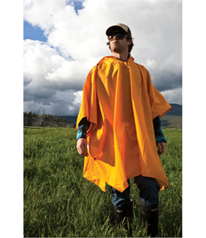Unisex Packable Rain Poncho