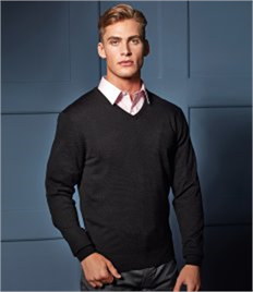 Premier Essential Acrylic V Neck Sweater