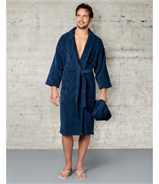 Velour Bath Robe