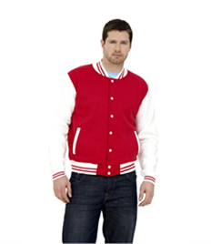 Uneek Mens Varsity Jacket
