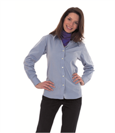 Uneek Ladies Pinpoint Oxford Full Sleeve Shirt