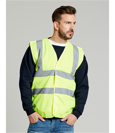 Ultimate Clothing Company 4-Band Safety Waistcoat