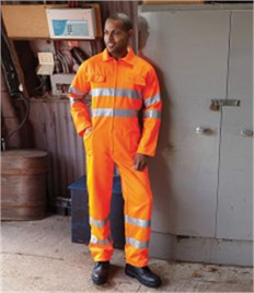 Yoko Hi-Vis Poly/Cotton Coverall