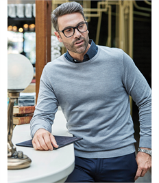 Men's Crew Neck Knitted Sweater